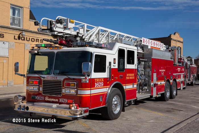 Riverside FD fire truck