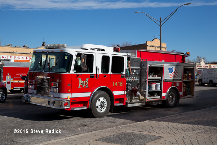 McCook FD fire engine