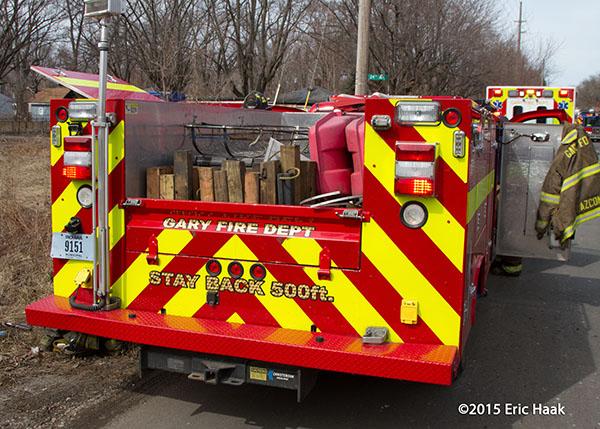 Gary IN fire truck