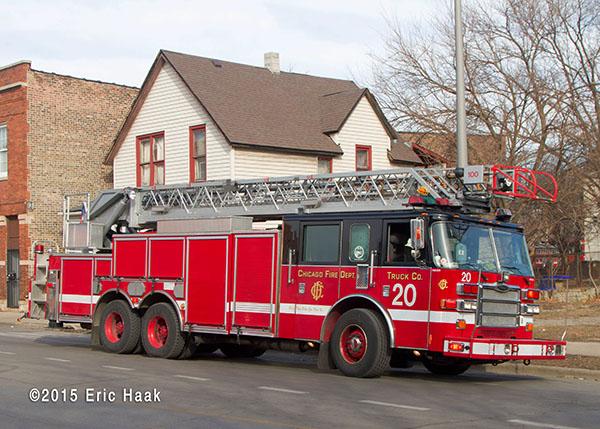 Chicago Pierce fire truck
