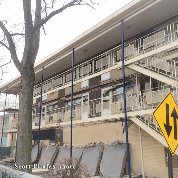 structural collapse of balconies
