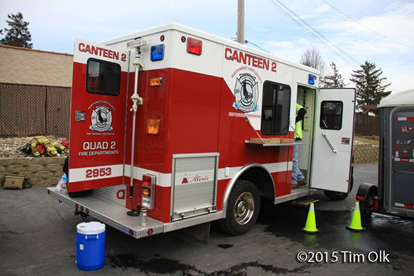 fire department canteen service unit