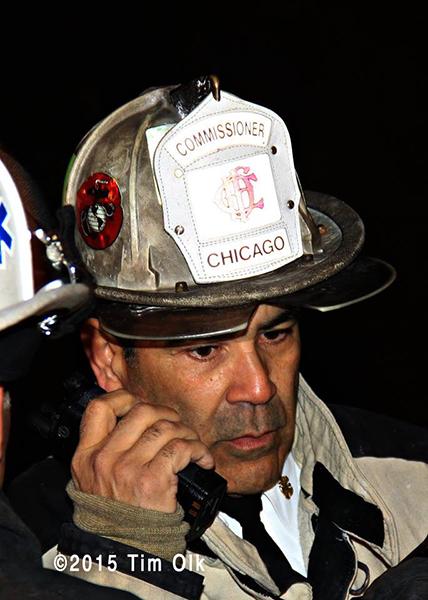 Chicago FD Commissioner Jose Santiago