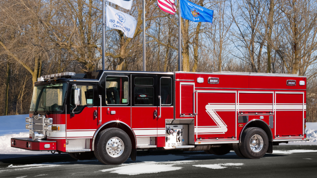 new fire engine for Dolton IL