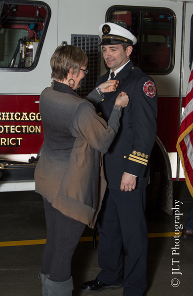 new fire deputy chief promoted in West Chicago IL