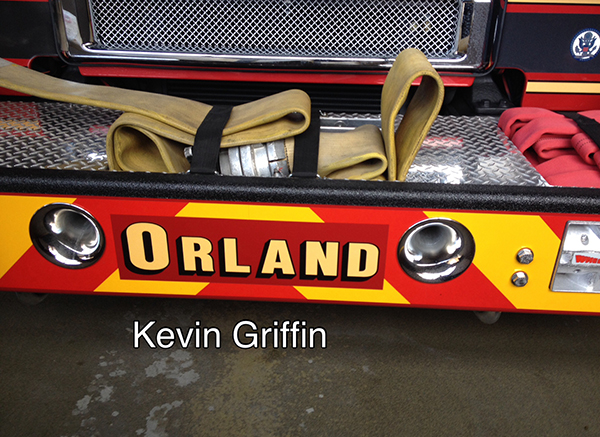 fire engine bumper