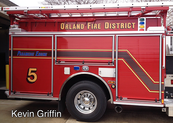 Orland FPD fire apparatus