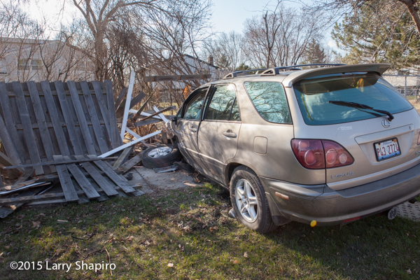 Lexus SUV protects occupants during crash