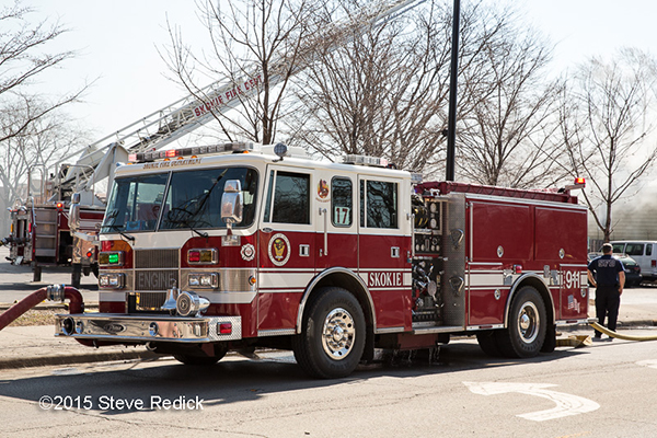 Skokie FD fire engine