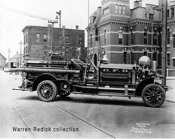 Chicago Engine 46 - 1919 Ahrens Fox.