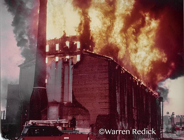 classic Chicago fire scene