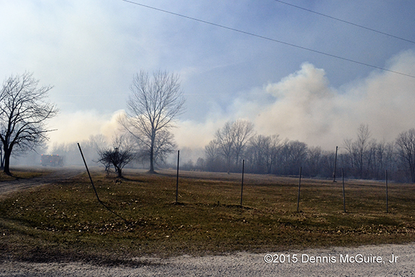 brush fire consumes 50 acres