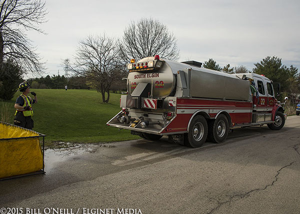 fire department water tender