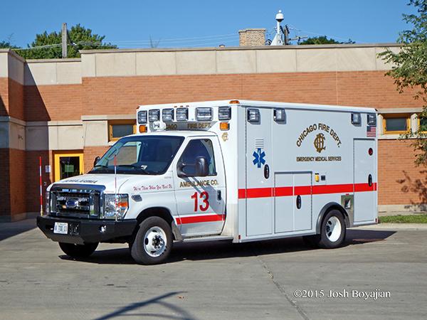CFD Ambulance 13