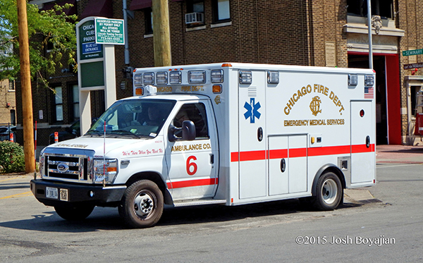 CFD Ambulance 6