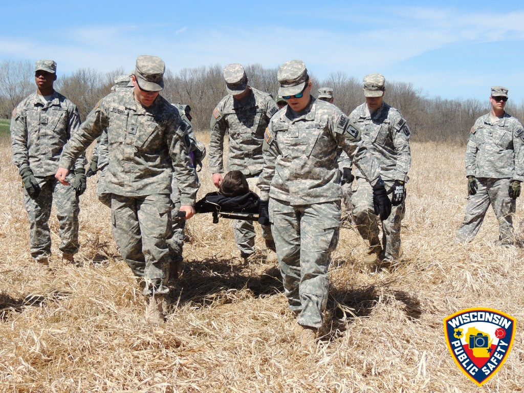 National Guard training for disasters
