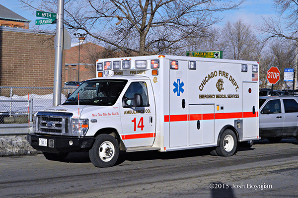 CFD Ambulance 14