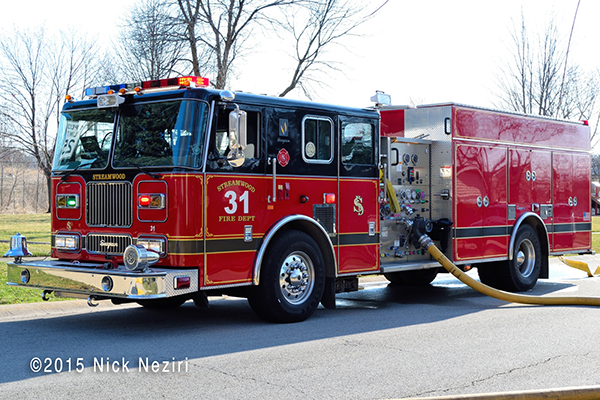 Streamwood FD fire engine