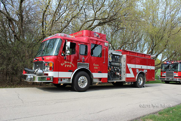 Fox River Grove fire engine