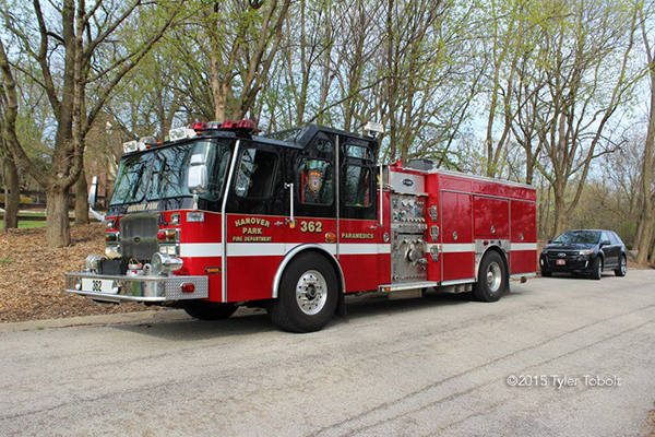 Hanover park fire engine
