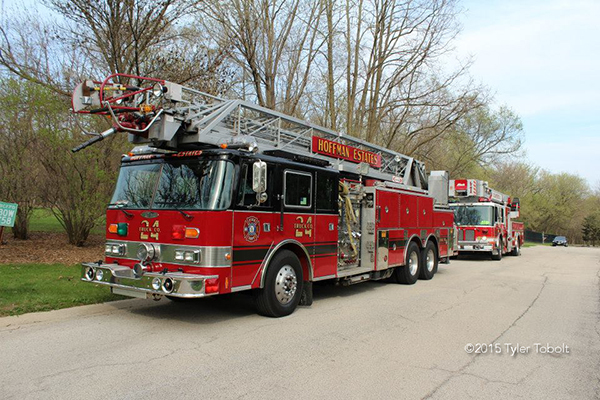 Hoffman Estates fire truck
