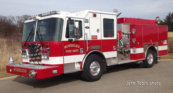 Mundelein Fire Department fire engine