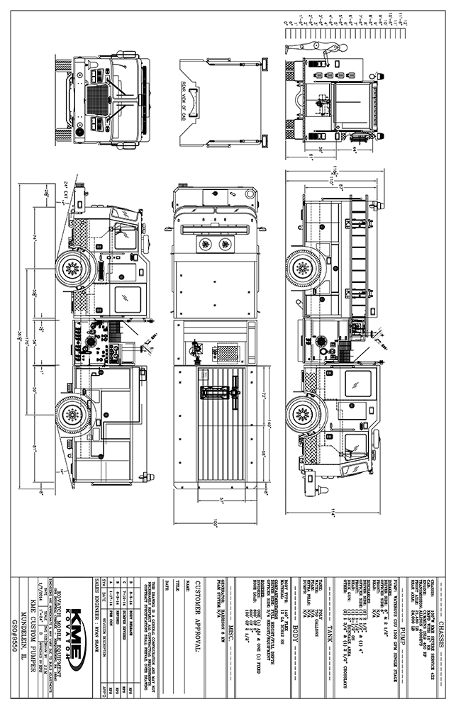 fire engine blueprint