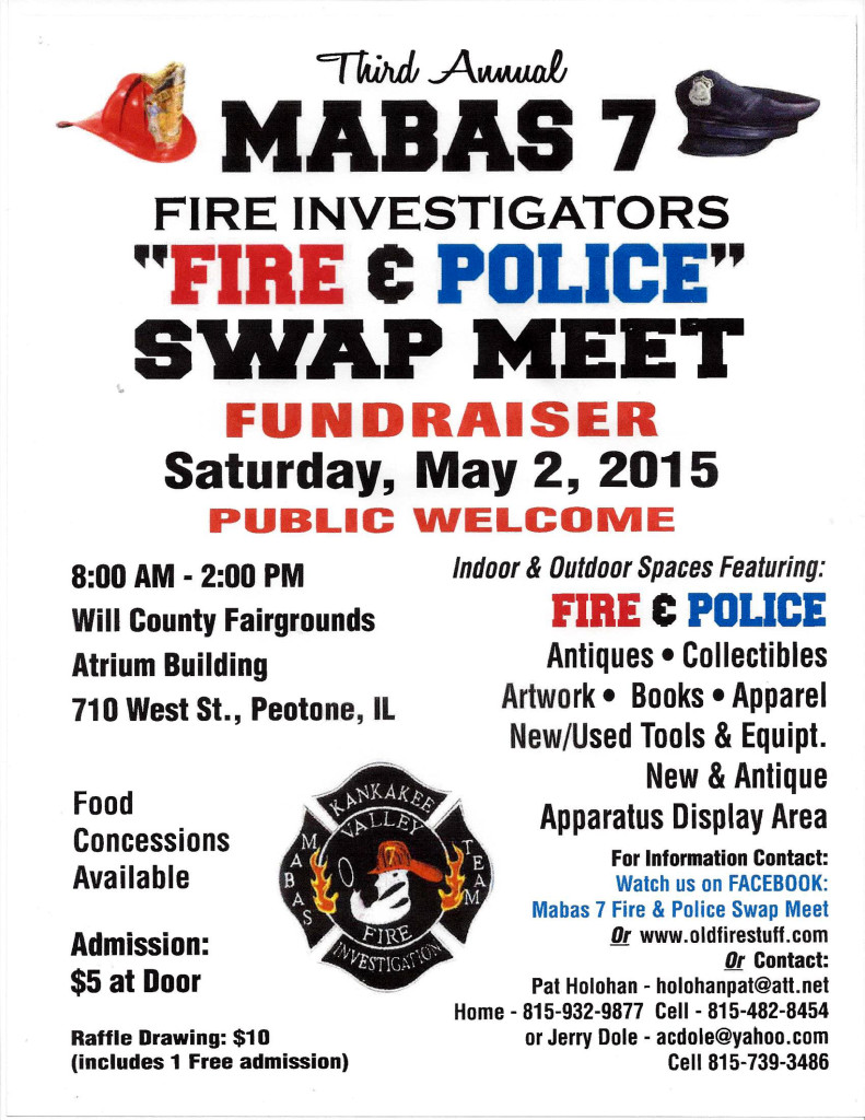 MABAS 7 Fire & Police Swap Meet 2015