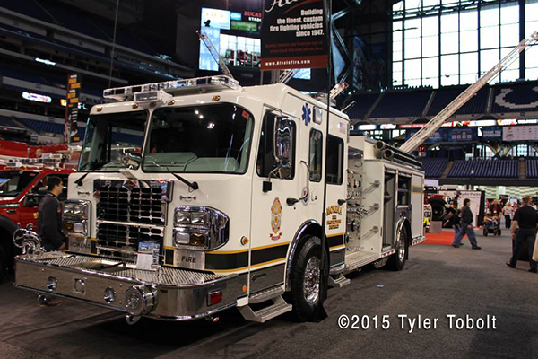 Mokena FPD fire engine