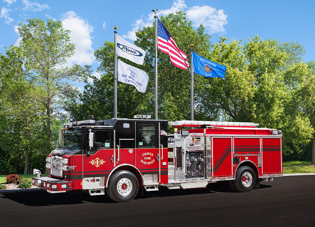 Itasca FD fire engine