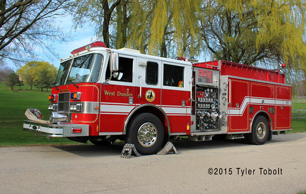 West Dundee Fire Department Engine 32