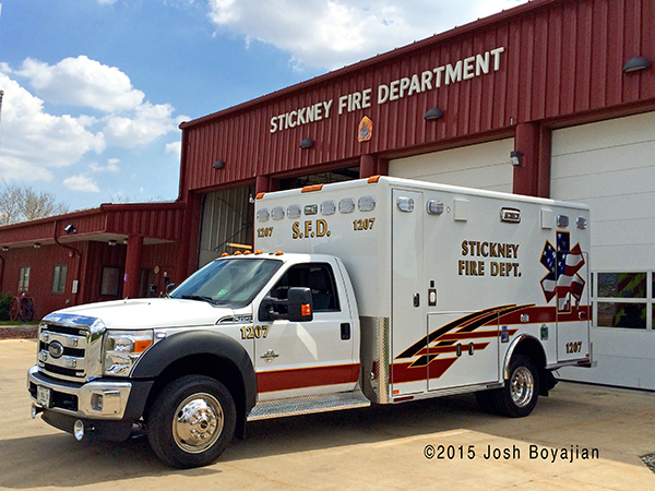 Stickney FD Ambulance 1207