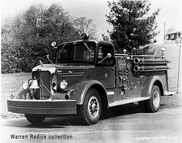 1954 Mack delivery photo in Chicago
