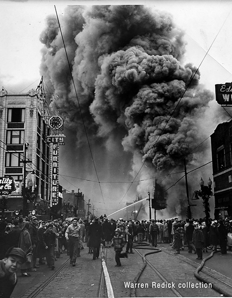 classic 1952 fire in Chicago
