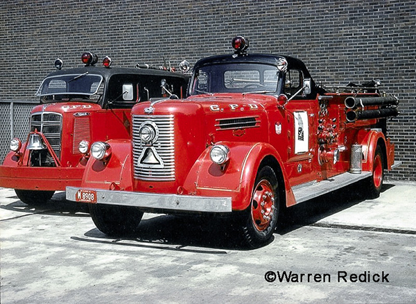 classic Chicago fire engines