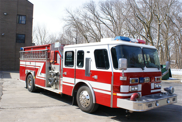 E-ONE fire engine for sale