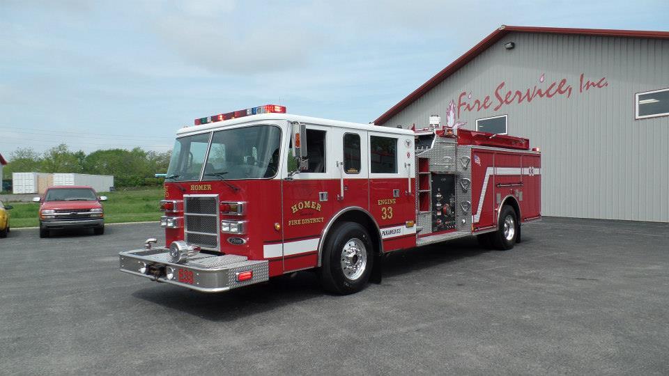 2002 Pierce Dash fire engine