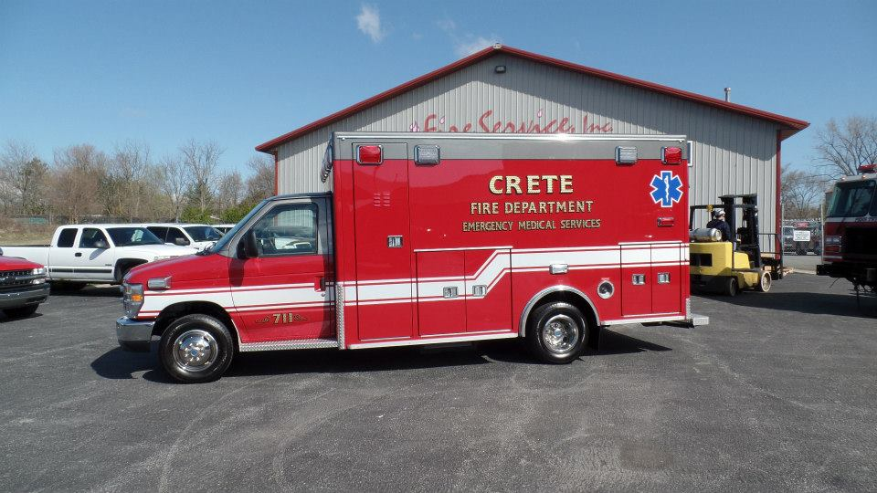 Crete FD ambulance
