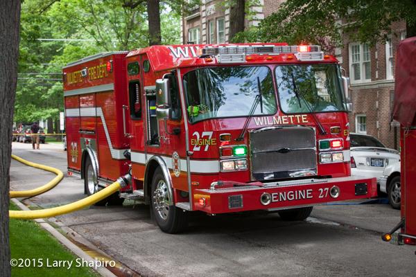 E-ONE Cyclone II e-Max fire engine