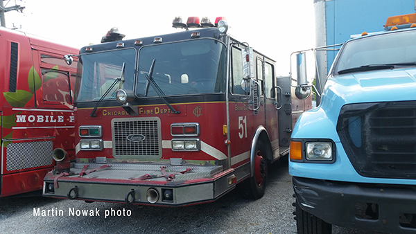 used Chicago fire engine