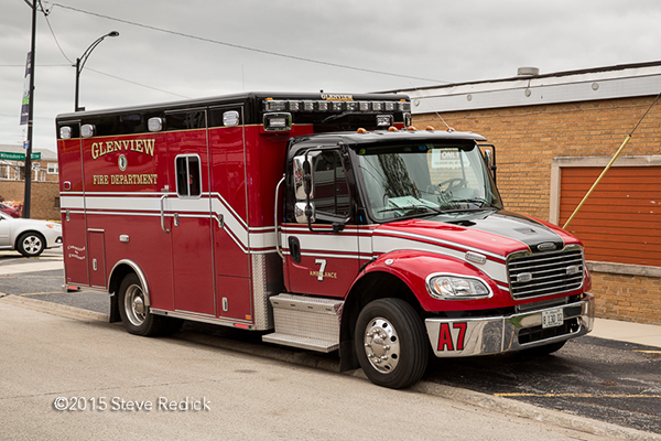 Glenview FD Ambulance 7 Freightliner