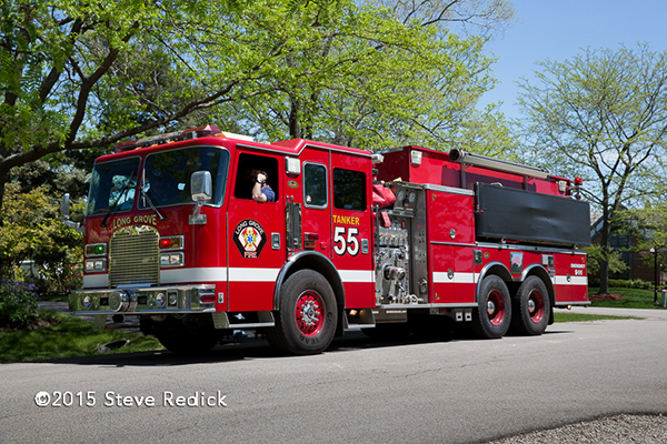 Long Grove Fire Department tender