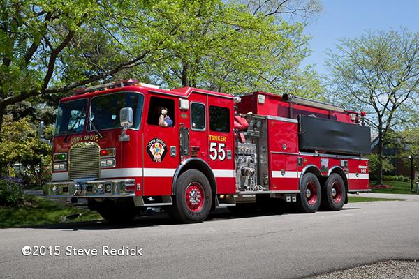 Long Grove Fire Department tender