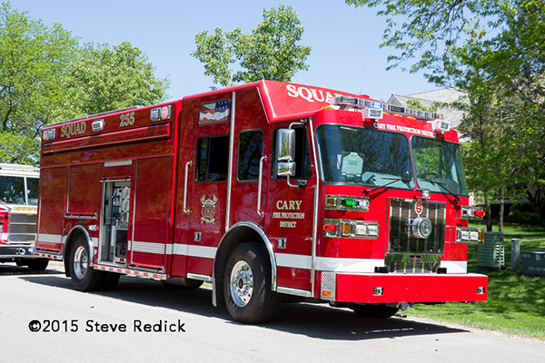 Cary Fire District Super Vac squad