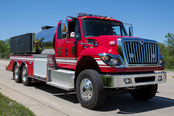 McHenry Township Fire Department tender