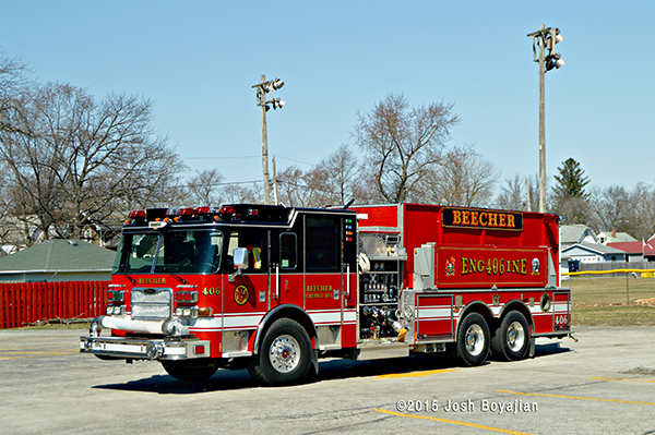 Pierce Arrow XT pumper tanker