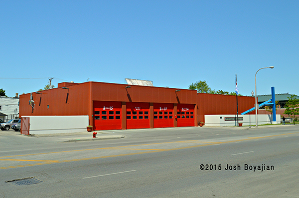 Chicago fire station Engine 117