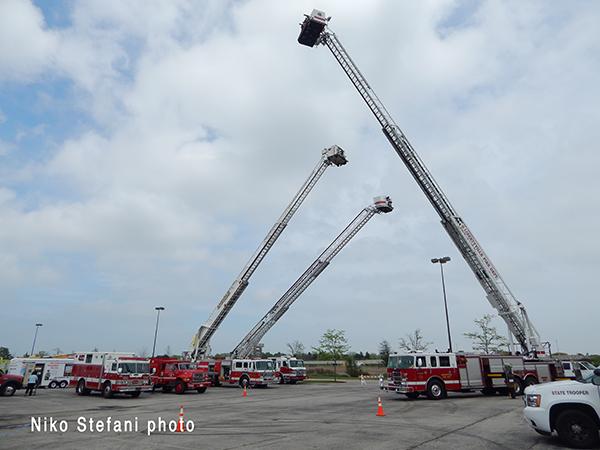 fire trucks ion display