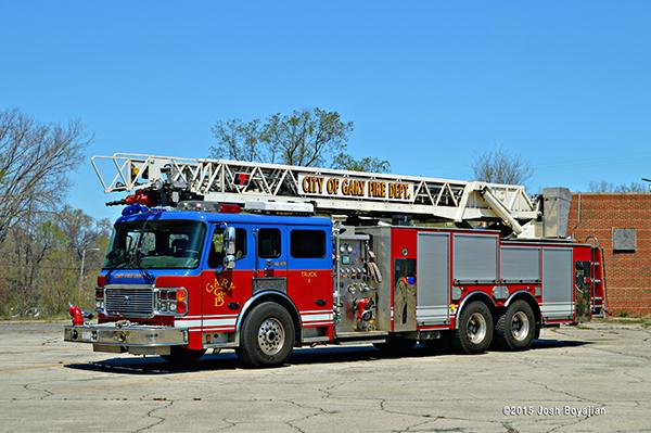 Gary fire apparatus