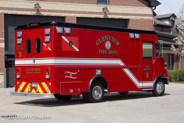 Freightliner MT-45 fire truck